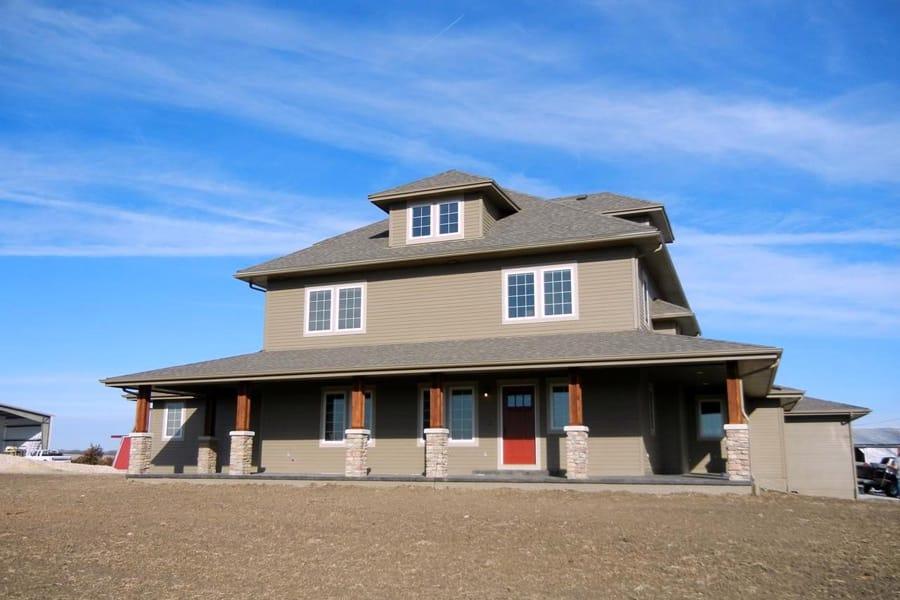 2 story farm house adc for 2 story farm house